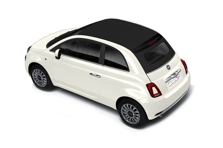 Fiat 500 C Convertible 1.0 MHEV 70PS Rock Star 2Dr Manual [Start Stop] back view