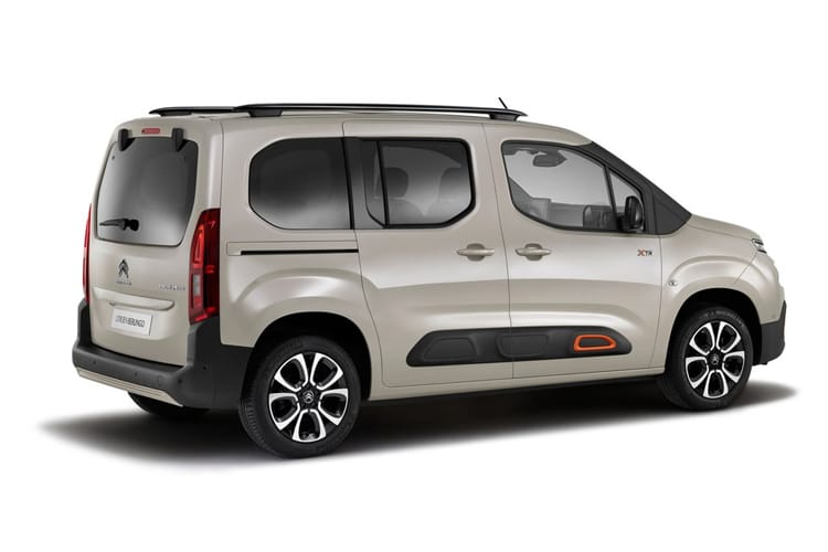 Citroen Berlingo M MPV 1.2 PureTech 130PS Feel 5Dr EAT8 [Start Stop] back view