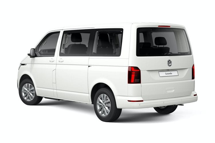 Volkswagen Caravelle SWB MPV M1 4Motion 2.0 BiTDI 4WD 204PS Executive MPV DSG [Start Stop] back view