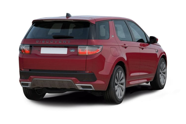 Land Rover Discovery Sport SUV FWD 2.0 D 150PS S 5Dr Manual [Start Stop] [7Seat] back view