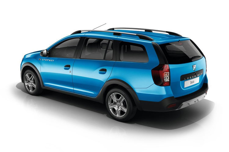 Dacia Logan MCV Stepway 0.9 TCe 90PS Techroad 5Dr Manual [Start Stop] back view