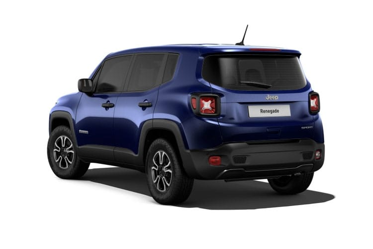 Jeep Renegade SUV 1.3 GSE T4 150PS 80th Anniversary 5Dr DDCT [Start Stop] back view