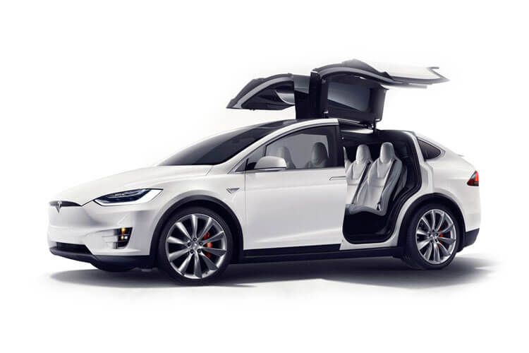 Tesla Model X SUV 5Dr Tri Motor Elec 761KW 1020PS Plaid 5Dr Auto detail view