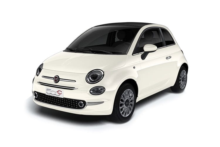 Fiat 500 C Convertible 1.0 MHEV 70PS Rock Star 2Dr Manual [Start Stop] front view