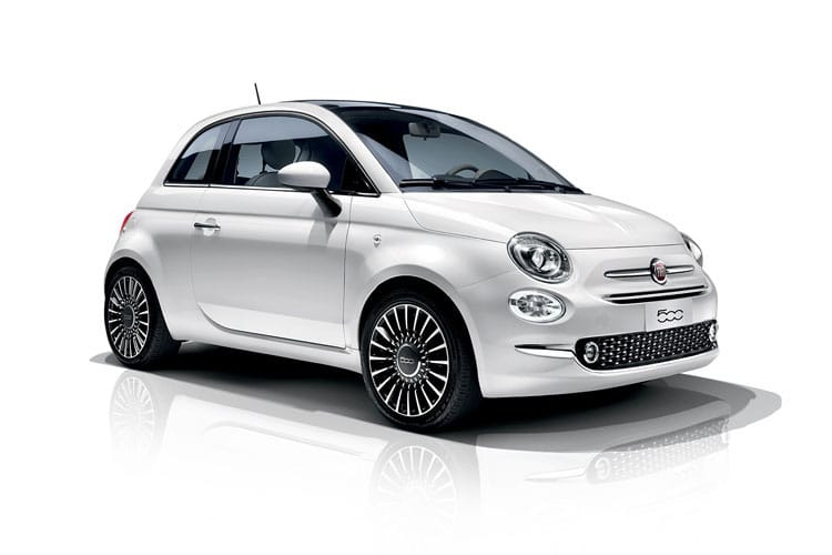 Fiat 500 Hatch 3Dr 1.2 8V 69PS Sport 3Dr Dualogic [Start Stop] front view