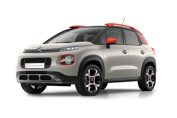 Citroen C3 Aircross SUV 1.5 BlueHDi 110PS Shine Plus 5Dr Manual front view