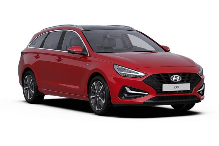 Hyundai i30 Tourer 1.6 CRDi MHEV 136PS Premium 5Dr Manual [Start Stop] front view