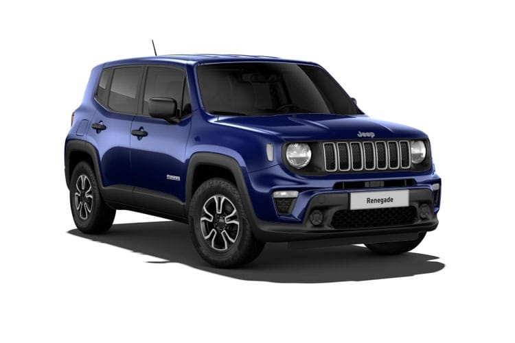 Jeep Renegade SUV 1.3 GSE T4 150PS 80th Anniversary 5Dr DDCT [Start Stop] front view