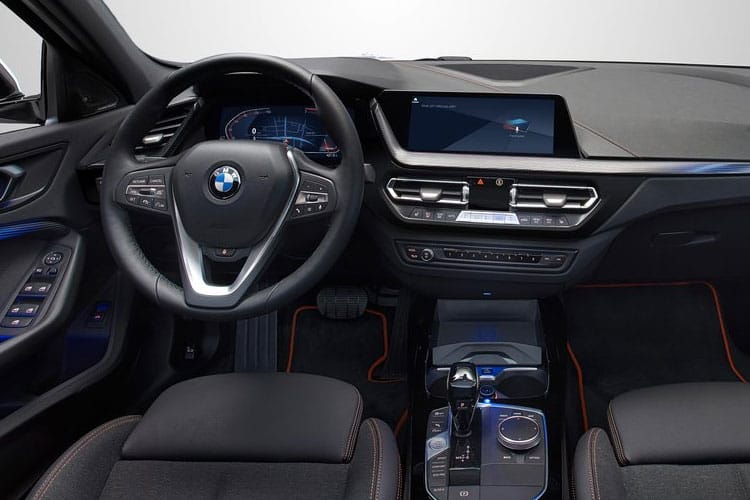 BMW 1 Series 118 Hatch 5Dr 1.5 i 136PS M Sport 5Dr DCT [Start Stop] [Tech Pro] inside view