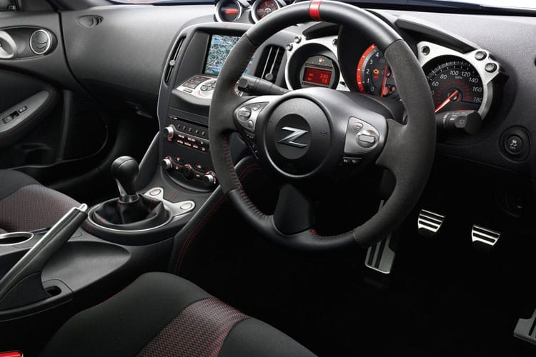 Nissan 370Z Coupe 3Dr 3.7 V6 328PS GT 3Dr Auto [50th Anniversary] inside view
