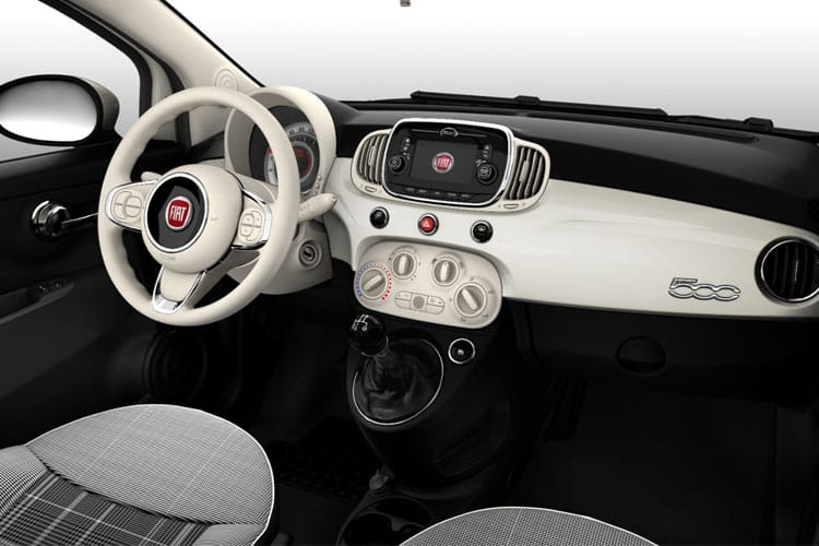Fiat 500 C Convertible 1.0 MHEV 70PS Rock Star 2Dr Manual [Start Stop] inside view
