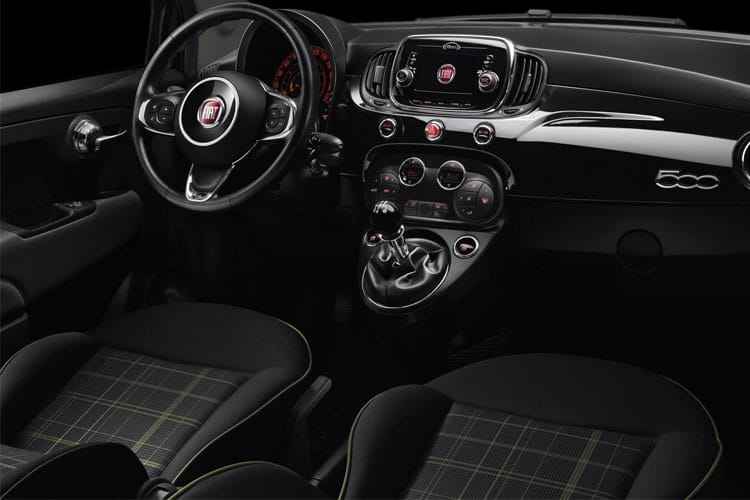 Fiat 500 Hatch 3Dr 1.2 8V 69PS Sport 3Dr Dualogic [Start Stop] inside view