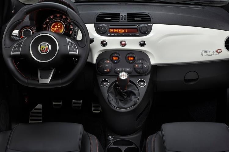 Abarth 595 C Cabrio 1.4 T-Jet 180PS EsseEsse 2Dr Manual inside view