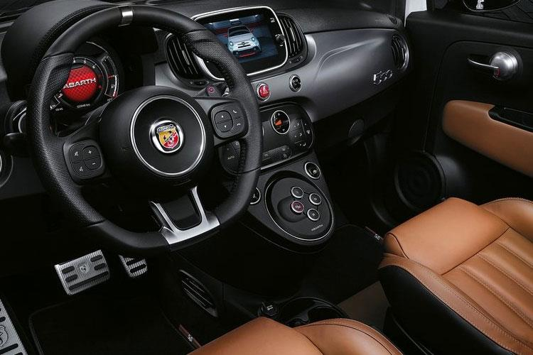 Abarth 595 Hatch 3Dr 1.4 T-Jet 180PS EsseEsse 3Dr Auto inside view