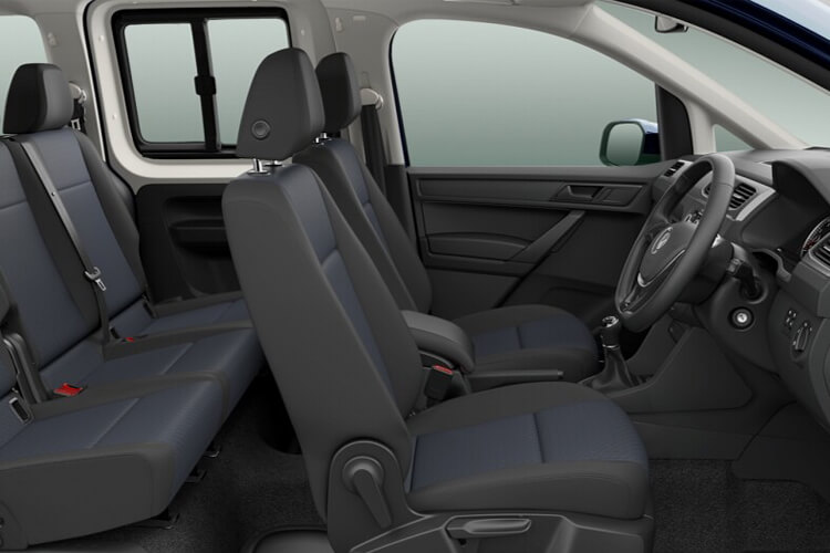 Volkswagen Caddy Maxi M1 2.0 TDI FWD 102PS Life MPV Manual [Start Stop] [5Seat] inside view