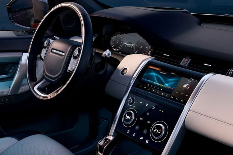 Land Rover Discovery Sport SUV FWD 2.0 D 150PS S 5Dr Manual [Start Stop] [7Seat] inside view