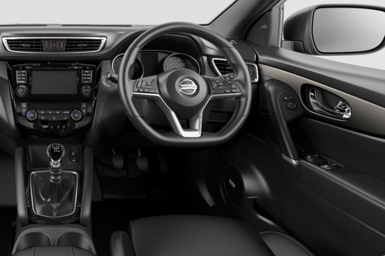 Nissan Qashqai SUV 2wd 1.3 DIG-T 140PS N-Motion 5Dr Manual [Start Stop] inside view