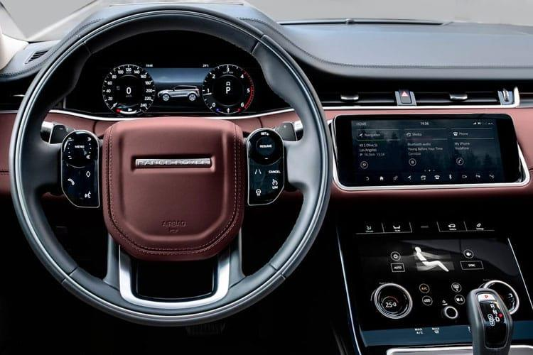 Land Rover Range Rover Evoque SUV 5Dr 2.0 D MHEV 204PS R-Dynamic 5Dr Auto [Start Stop] inside view