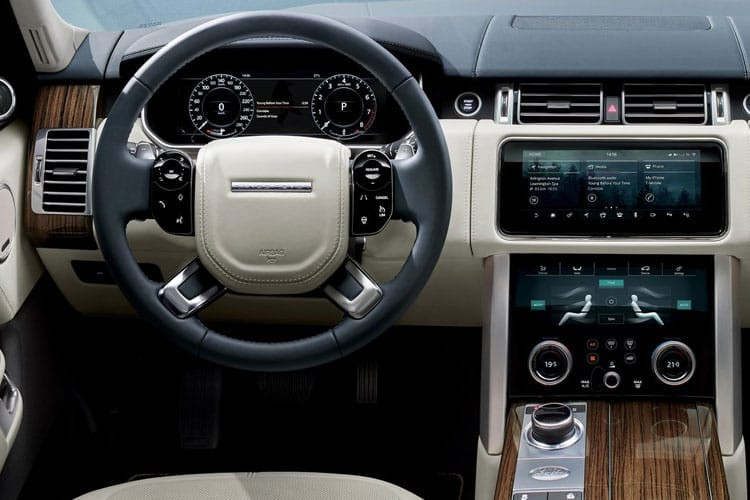 Land Rover Range Rover SUV 2.0 P400e PHEV 13.1kWh 404PS Vogue SE 5Dr Auto [Start Stop] inside view