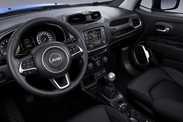 Jeep Renegade SUV 1.3 GSE T4 150PS 80th Anniversary 5Dr DDCT [Start Stop] inside view