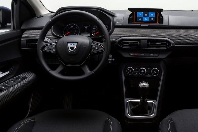 Dacia Sandero Stepway 1.0 TCe 90PS Prestige 5Dr Manual [Start Stop] inside view