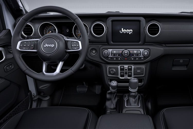 Jeep Wrangler SUV 4Dr 2.0 GME 272PS Sahara 4Dr Auto [Start Stop] inside view